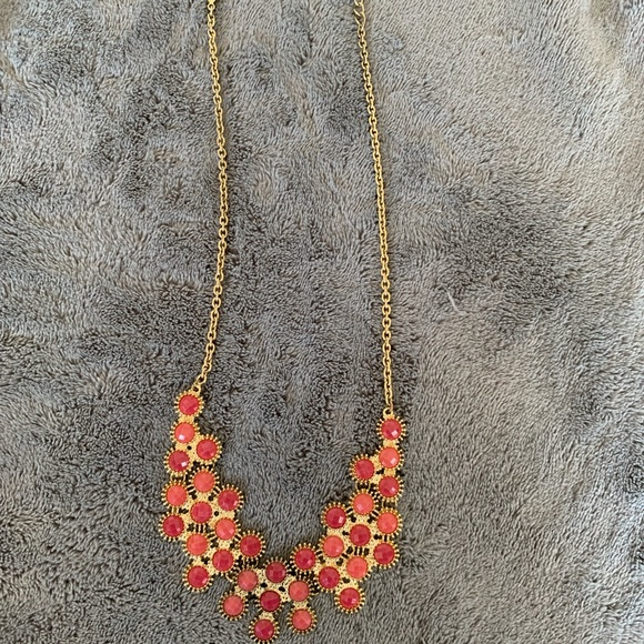 Francesca's Collections Jewelry - Pink Collar Necklace